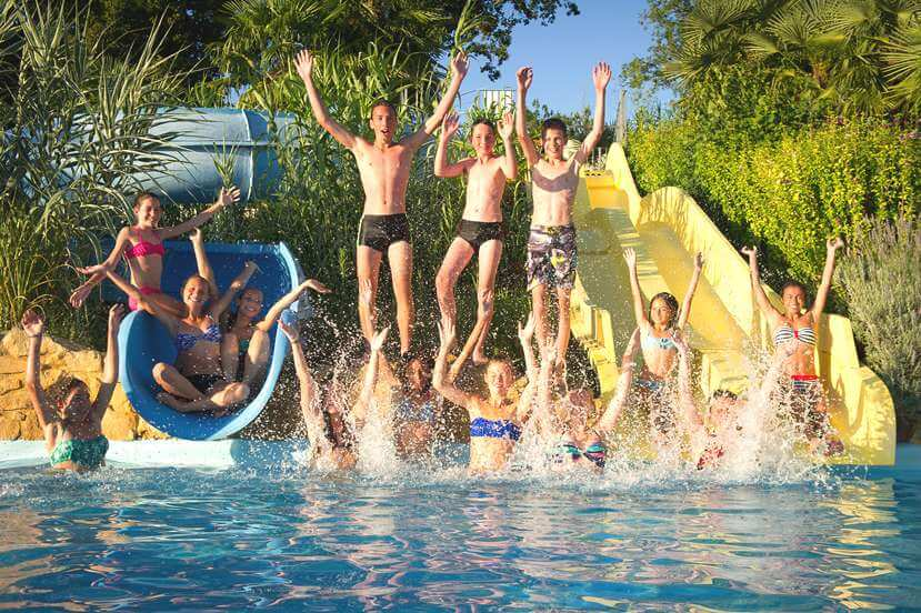 camping with swimming pool dordogne